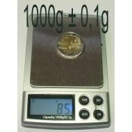Balance Electronique précision 0,1g à 1000g Bijoutier