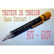 Testeur de Voltage, Tension, 90v - 600v Sans Contact