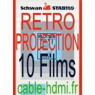 Film transparent A4 rétroprojecteur imprimante traceur