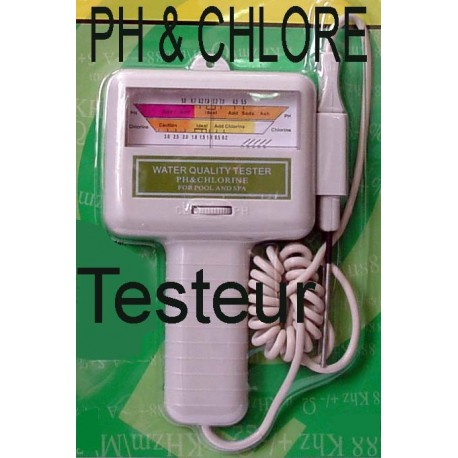 Ph chlore testeur eau aquarium et piscine bricochanoux - Testeur ph electronique ...