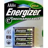 Piles rechargeables ENERGIZER AAA NiMH (600mAh/850mAh/900mAh)