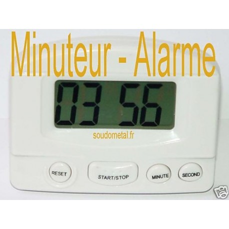 mini timer compteur minuteur cuisine lcd bricochanoux. Black Bedroom Furniture Sets. Home Design Ideas