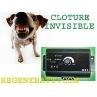 Cloture collier électrique anti fugue pour chien