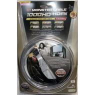 HDMI Monster Cable MC 1000HD-EX 1.3 Blindé OR 2m