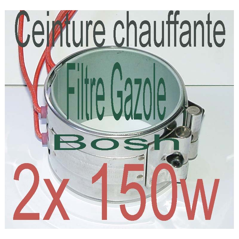 r chauffeur ceinture chauffante 1x150w 24v filtre a gazole. Black Bedroom Furniture Sets. Home Design Ideas