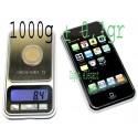 1000g ± 0,1g Mini Balance electronique monnaie  iphone IPS300