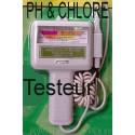 PH & Chlore testeur eau Aquarium et Piscine
