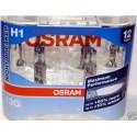 2x Ampoule H1 12V NIGHT BREAKER OSRAM Super Lumineuses