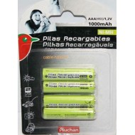 Piles rechargeables UNIROSS AAA 1000mAh Telephone (x4/x8)